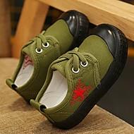 baratos Sapatos de Menino-Para Meninos Sapatos Lona Primavera / Outono Conforto Tênis para Arco-íris / Verde Tropa