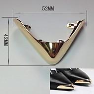 billige Dekorative Detaljer-Plast & Metal Dekorative detaljer Unisex Alle årstider Afslappet Guld Sort Sølv