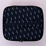 お買い得  コスメティックバッグ-Others 化粧ポーチ ジッパー のために カジュアル オールシーズン ホワイト ブラック ダークブルー グレー ピンク
