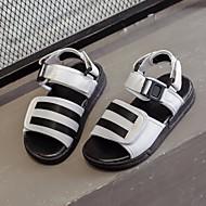 baratos Sapatos de Menino-Para Meninos Sapatos Micofibra Sintética PU Verão Conforto Sandálias para Branco / Preto