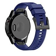 Pulseiras de Relógio para Fenix 5x Garmin Fecho Moderno Silicone Tira de Pulso
