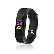 tanie Inteligentne zegarki-Inteligentny zegarek 115PLUS na iOS Odbieranie bez użycia rąk / Wodoszczelny / Ładowanie bezprzewodowe / Kamera / aparat / Śledzenie odległości Krokomierz / Powiadamianie o połączeniu telefonicznym