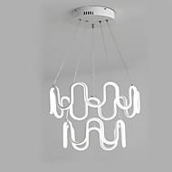 billige Takbelysning og vifter-2-Light Lineær Lysekroner Nedlys Malte Finishes Metall Anti-refleksjon, Mini Stil, Justerbar 110-120V / 220-240V Varm Hvit / Kald Hvit LED lyskilde inkludert / Integrert LED / FCC