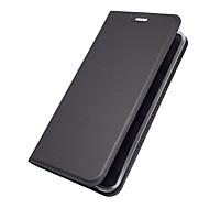 billiga Mobil cases & Skärmskydd-fodral Till LG V30 Q6 Korthållare med stativ Lucka Magnet Fodral Enfärgad Hårt PU läder för LG V30 LG V20 LG Q6 LG G6