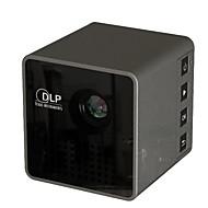baratos Renovando-compacto home da definição portátil plástica do entretenimento 1080p do projetor home esperto compacto de pouco peso
