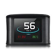 preiswerte Frontscheiben-Anzeigen-P10 3,5 Zoll LED Kopf hoch Anzeige LED-Anzeige Multifunktionsdisplay Plug-and-Play für Lastwagen Bus Auto Anzeige KM / h MPH