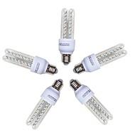 billige Kornpærer med LED-5pcs 9W 720lm E26 / E27 LED-kornpærer T 48 LED perler SMD 2835 Kjølig hvit 220-240V