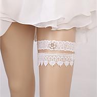 billige -Blondelukning Europæisk Stil Bryllup Bryllup Garter  -  Bjergkrystal Imiterede Perler Strømpebånd Bryllup Fest & Aften