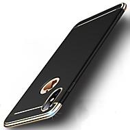 رخيصةأون حافظات الجوال & واقيات الشاشات-غطاء من أجل Apple iPhone X / إفون 8 ضد الصدمات / تصفيح / نحيف جداً غطاء كامل للجسم لون سادة قاسي الكمبيوتر الشخصي إلى iPhone X / iPhone 8 Plus / iPhone 8