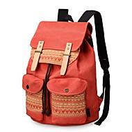 baratos Mochilas-Mulheres Bolsas mochila Miçangas / Botões para Ao ar livre Azul / Marron / Laranja