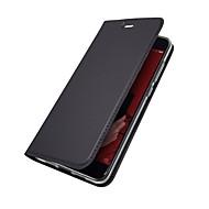 billiga Mobil cases & Skärmskydd-fodral Till Xiaomi Mi 6 Mi 5X Korthållare med stativ Lucka Magnet Fodral Enfärgad Hårt PU läder för Redmi Note 5A Xiaomi Redmi Note 4X