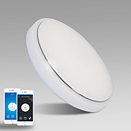billiga Belysning-JIAWEN Takmonterad Fluorescerande - Ögonskydd, WIFI-kontroll, Växelström 110-240 V, Varmt vit / Kall vit, LED-ljuskälla ingår / 10-15㎡
