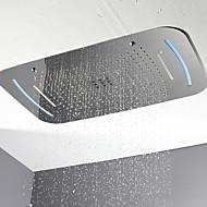 baratos Chuveiros-Moderna Chuveiro Tipo Chuva Cromado Característica - LED / Ducha, Lavar a cabeça