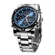 Men's Steel Band Quartz Watches