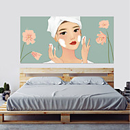 Dekorative Wand Sticker   3D Wand Sticker Menschen Wandaufkleber 3D  Wohnzimmer Schlafzimmer Badezimmer Küche Esszimmer Studierzimmer /