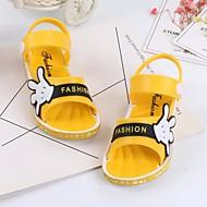 baratos Sapatos de Menino-Para Meninos / Para Meninas Sapatos Pele PVC Verão Conforto Sandálias para Amarelo / Azul / Rosa claro