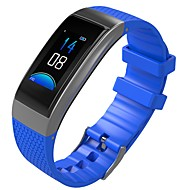 tanie Inteligentne zegarki-Inteligentny zegarek Bluetooth Czuj dotyku Kontrola APP Liczniki kalorii Powiadamianie o połączeniu telefonicznym Pulse Tracker