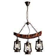 billige Takbelysning og vifter-Lysekroner Nedlys - Mini Stil, Rustikk / Hytte Kunstnerisk, 110-120V 220-240V Pære ikke Inkludert