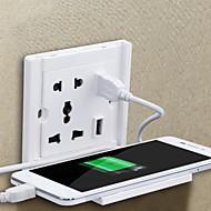 tanie Inteligentny dom-w pomieszczeniach / Domu i biura / Łatwy w użyciu 1 opakowanie ABS Ścienny Wł. / Wył.