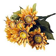 billige Kunstig Blomst-Kunstige blomster 1 Afdeling pastorale stil Solsikke Bordblomst