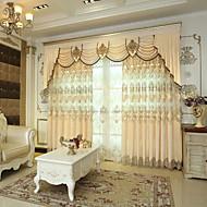 Zavjese Zavjese Living Room Geometrijski oblici Pamuk / poliester Jacquard