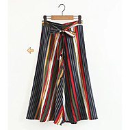 女性用 ボヘミアン ブランコ スカート - ストライプ