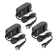 billige belysning Tilbehør-ZDM® 3pcs 100-240V EU US Strip Light Tilbehør Strømforsyning Plast for LED Strip lys 36W