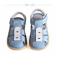 お買い得  男の子用靴-男の子 / 女の子 靴 レザー 夏 コンフォートシューズ サンダル 面ファスナー のために 子供用 ブルー / ピンク / ライトブルー