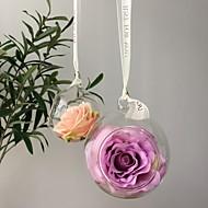 billige Kunstig Blomst-Kunstige blomster 1 Afdeling Fest / Bryllup Roser kurv med blomster