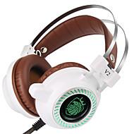 V2 Ledning Høretelefoner Til PC Høretelefoner PU Læder 1pcs enhed 240cm All-In-1 USB 2.0