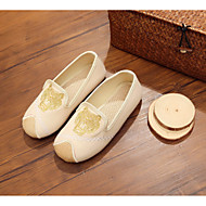 tanie Obuwie chłopięce-Dla chłopców Obuwie Płótno Wiosna Wygoda Mokasyny i buty wsuwane na Czarny / Beżowy / Niebieski