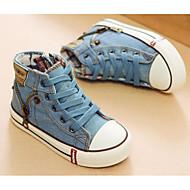 お買い得  男の子用靴-男の子 / 女の子 靴 キャンバス 春 / 秋 コンフォートシューズ スニーカー のために ダークブルー / ダックレッド / ライトブルー