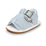 お買い得  ベビー用靴-男の子 / 女の子 靴 レザーレット 夏 コンフォートシューズ / 赤ちゃん用靴 / 幼児用靴 サンダル 面ファスナー のために 赤ちゃん ブルー / ライトブルー / カーキ色