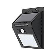 billiga Belysning-1st 10W Vägglampa Sol Vattentät Kallvit 3.7V Utomhusbelysning