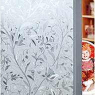 preiswerte Fensterdekoration-Wandtattoo Dekorative Wand Sticker - 3D Wand Sticker 3D Blumenmuster / Botanisch Repositionierbar Abziehbar Waschbar