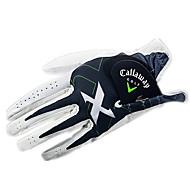 Χαμηλού Κόστους Γάντια του γκολφ-Ολόκληρο το Δάχτυλο Ανδρικά Φοριέται Αντιολισθητικά Γκολφ Γάντι Δέρμα