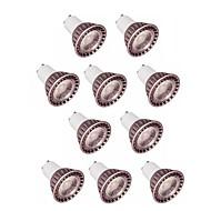 billige Spotlys med LED-10pcs 5W 400lm GU10 GU5.3 LED-spotpærer 1 LED perler COB Varm hvit Kjølig hvit 85-265V