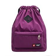 baratos Mochilas-Mulheres Bolsas Tecido Oxford mochila Ziper / Vazados Vermelho / Azul Escuro / Roxo