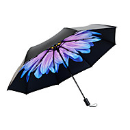cheap Home Accents-Plastic Women's Sunny and Rainy / Wind Proof / New Folding Umbrella