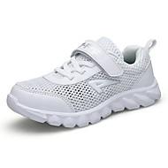 baratos Sapatos de Menina-Para Meninas Sapatos Tule Verão Conforto Tênis Corrida / Aventura para Branco / Azul Escuro / Azul Real