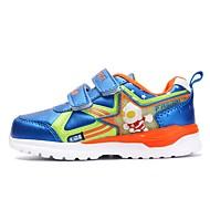 baratos Sapatos de Menina-Para Meninos / Para Meninas Sapatos Courino Primavera & Outono Conforto Tênis para Infantil Azul Escuro / Roxo / Azul Real