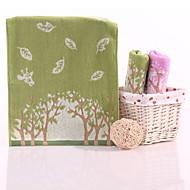 billiga Handdukar och badrockar-Överlägsen kvalitet Tvätt handduk, Geometrisk Polyester / Bomull Blandning / Ren bomull 1 pcs