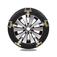 cheap Car Wheel Decoration-4pcs Car Snow Chains Common Buckle Type For Car Wheel For universal All Models All years