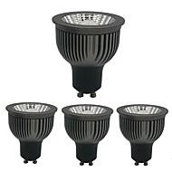 baratos Luzes LED de Encaixe-ZDM® 4pçs 4W 1 LEDs Regulável Lâmpadas de Foco de LED Branco Quente Branco Frio Branco Natural 85-265V Comercial Lar / Escritório