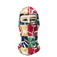 ieftine Măști Față-cagule / Face Mask Toate Sezoanele Keep Warm / Ciclism / Rezistent la Vânt Camping & Drumeții / Exerciții exterior / Ciclism / Bicicletă Unisex Spandex Bloc Culoare / Respirabil / Respirabil
