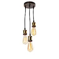 billige Takbelysning og vifter-OYLYW 3-Light Cluster Anheng Lys Omgivelseslys - Mini Stil, 110-120V / 220-240V Pære ikke Inkludert / 10-15㎡ / E26 / E27