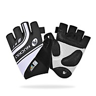 Nuckily Bike Gloves / Cycling Gloves Mountain Bike Gloves Breathable Anti-Slip Shockproof Protective Half Finger Sports Gloves Terry Cloth Mountain Bike MTB Road Bike Cycling Green Blue Pink for