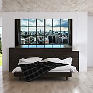 Dekorativne zidne naljepnice - 3D zidne naljepnice Pejzaž / 3D Stambeni prostor / Spavaća soba / Kupaonica