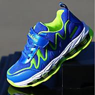 baratos Sapatos de Menino-Para Meninos Sapatos Courino Primavera / Outono Conforto Tênis Cadarço / Velcro para Azul Escuro / Fúcsia / Azul