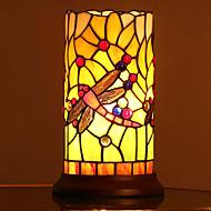 billige Lamper-Tiffany Øyebeskyttelse Bordlampe Til Soverom / Barnerom Glass 110-120V / 220-240V